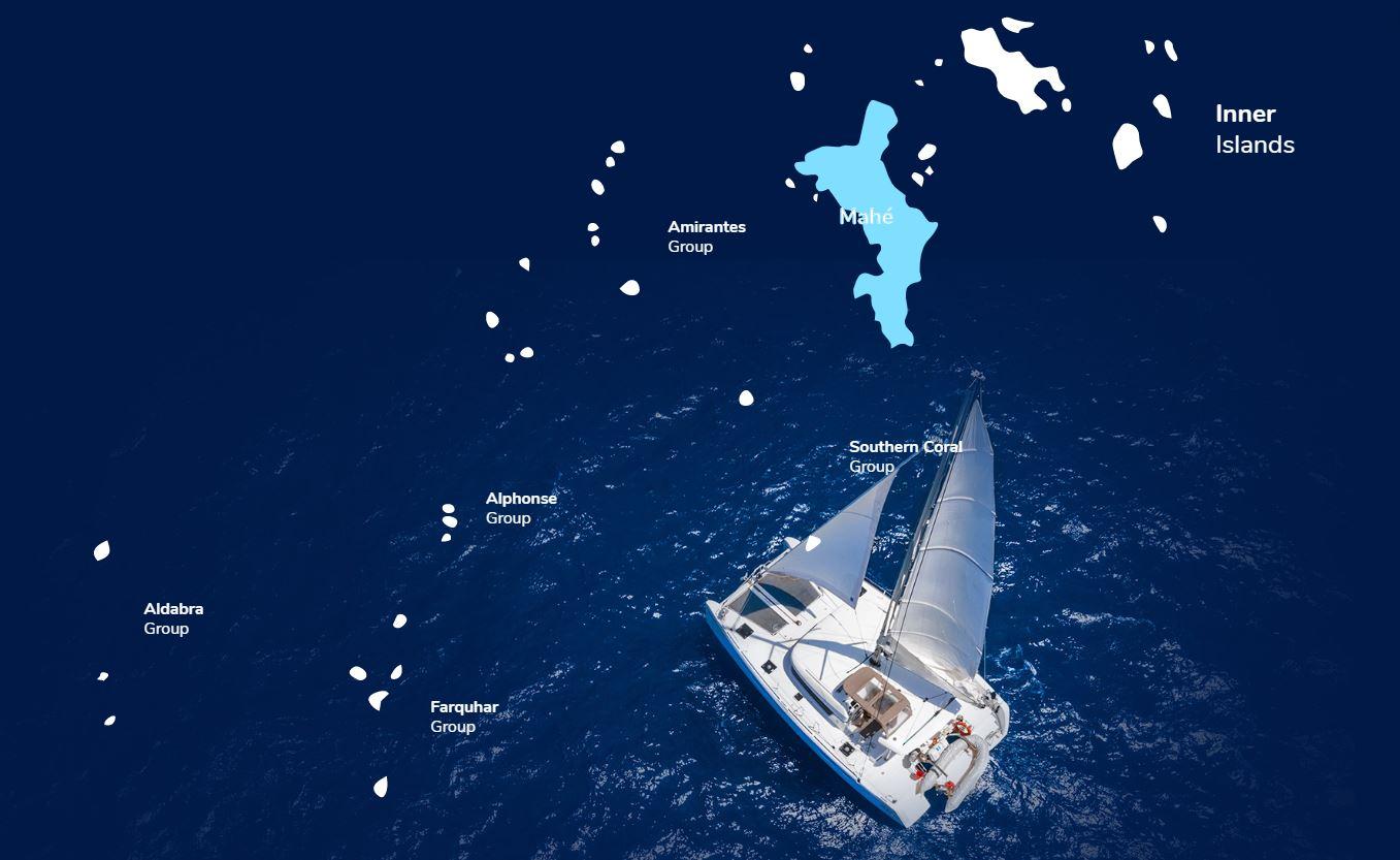 Острова для яхтинга на Сейшелах